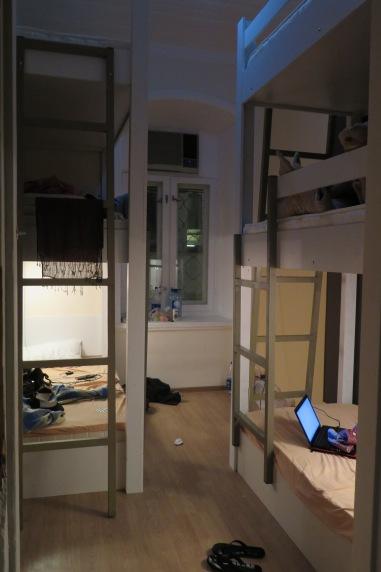 Half built hostel