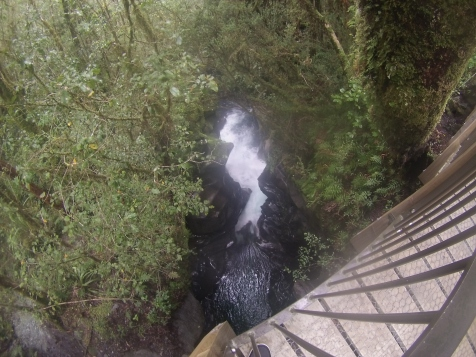 The Chasm Waterfall